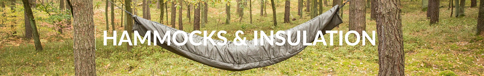 Hammocks and Insulation - Blankets