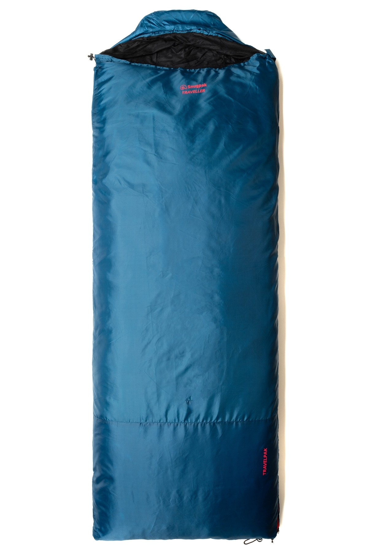 Snugpak Travelpak Traveller Blue Regular Right Zip