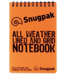 Water Resistant Notebook