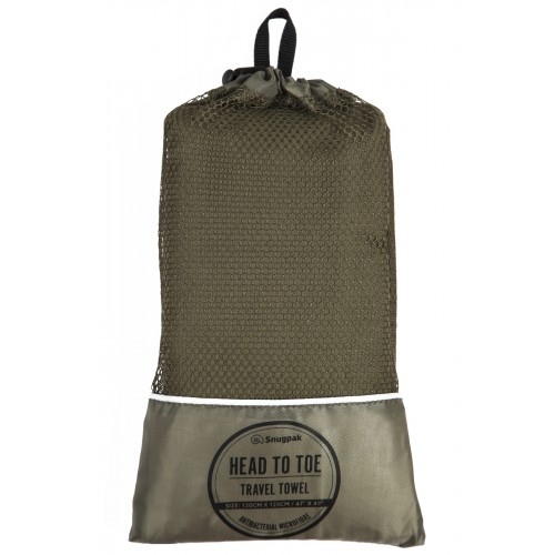 Default Head to Toe Travel Towel Olive