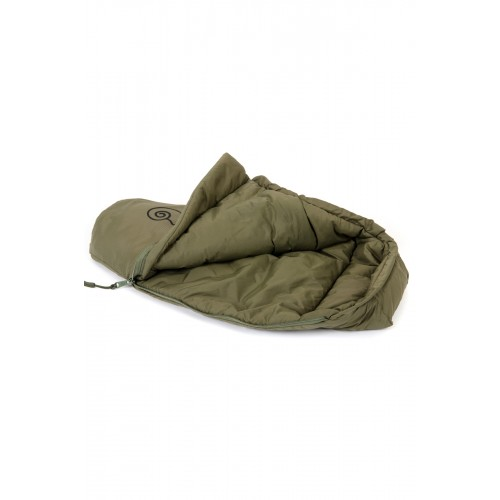 Detail Mini Sleeping Bag Olive 1