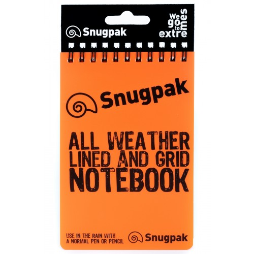 Notebook Orange with tag