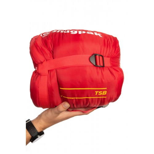 Packsize The Sleeping Bag Red 1