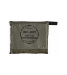 Default Hands & Face Travel Towel Olive
