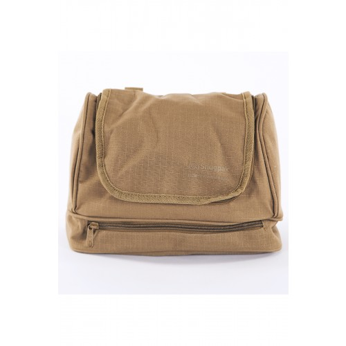 Default Luxury Wash Bag Coyote Tan