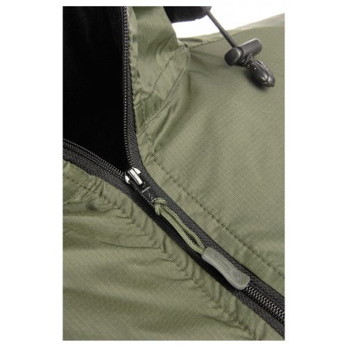 Detail Vapour Active Soft Shell Jacket Olive 6