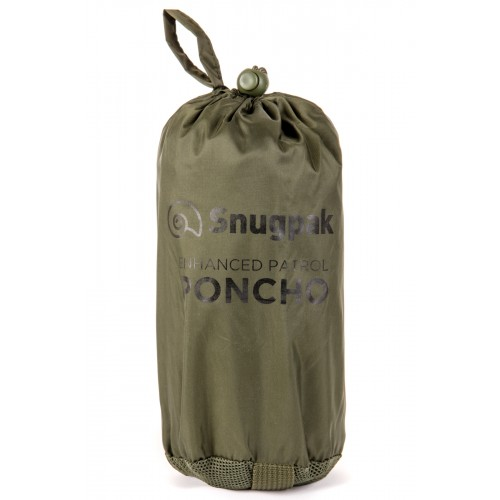 Packsize Enhanced Patrol Poncho Olive