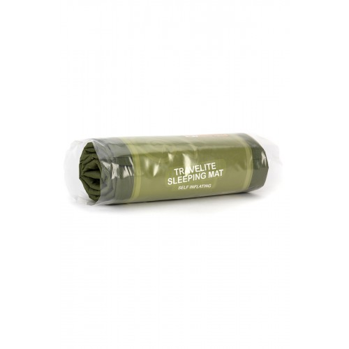 Packsize Travelite Self-inflating Midi Mat Olive 1