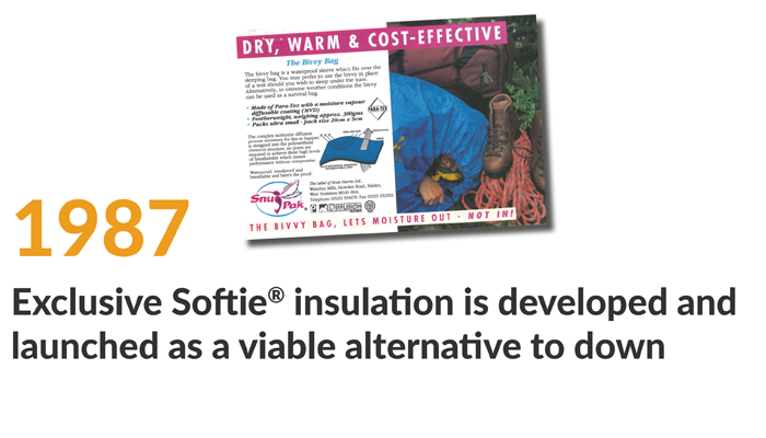 exclusive softie insulation is developed